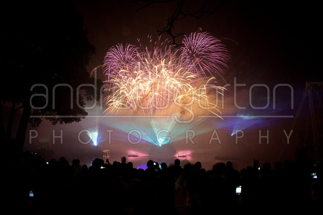 Drayton Park Star Wars Fireworks Show